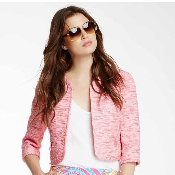 Trina Turk Cropped Jacket Size 2